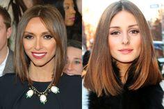 New Haircut Inspiration:  Giuliana Rancic and Olivia Palermo
