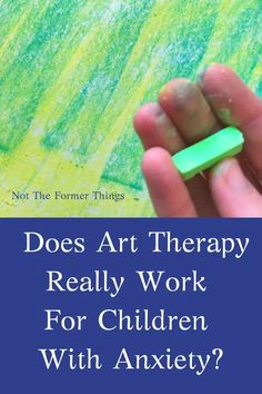 Does Art Therapy Really Work For Children With Anxiety? Working with art keeps hands busy and allows him to express feelings without feeling overwhelmed with the anxiety itself. How To Treat Anxiety, Deal With Anxiety, Coping Skills, Social Skills, Anxiety In Children, Young Children, Cognitive Behavioral Therapy, Anxiety Disorder, Art Therapy
