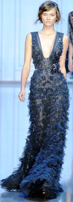 Something Blue: Elie Saab Haute Couture | Soolip Wedding