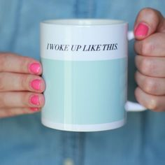 """be inspired with this motivational mug - perfect for your morning coffee, tea, or sweet cocoa!DETAILS:- size 3.7""""H x 3.2""""..."""