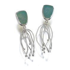 Anemone earrings 1 — LoriMeg Designs ~ Lori Gottlieb