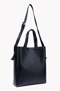 Rectangular leather shoulder bag | Bags | Acc | MEN | SYSTEM HOMME | BRANDS | 더한섬닷컴