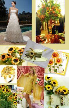 Hawaiian Island Wedding Planners: SUNFLOWER WEDDING THEME