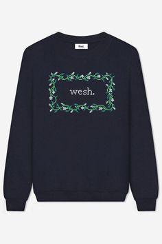 Sweatshirt col ronden poly-coton, ultraconfortable et doux à…