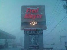 fairbanks in winter | Fairbanks, AK : Temperature in winter photo, picture, image (Alaska ...