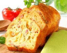 Cake au jambon et gruyère râpé