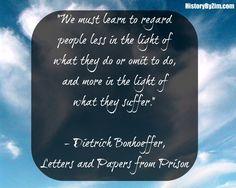 In Their Words: Dietrich Bonhoeffer
