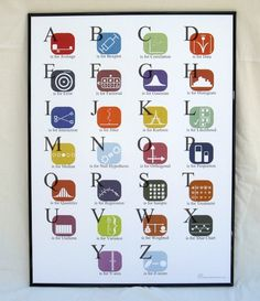 for smart babies only. ABC's of Statistics Poster. via Etsy.