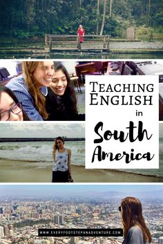 Want to teach English abroad? Find out why these two people loved their experiences teaching English in South America — stories from Brazil and Chile!