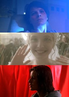 Three Colors Trilogy - 1993-1994. The Three Colors trilogy is the collective title of three films directed by Krzysztof Kieślowski, two made in French and one primarily in Polish: Trois couleurs: Bleu, Trzy kolory: Biały, and Trois couleurs: Rouge.