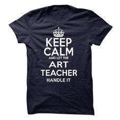 Art Teacher T-Shirts, Hoodies. GET IT ==► https://www.sunfrog.com/LifeStyle/Art-Teacher-60229169-Guys.html?id=41382