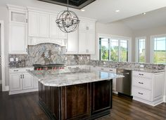Trendy Meets Traditional In This 84 Lumber Kitchen Design.