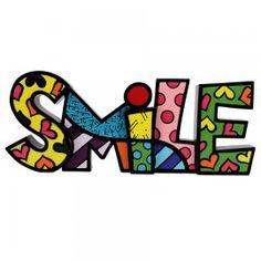 WORD FIGURINE - SMILE