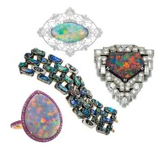 Jewels du Jour - 'O' IS FOR OPAL – OCTOBER'S BIRTHSTONE