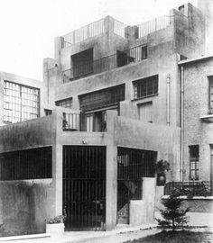 Adolf Loos - Haus Tristan Tzara, Paris, 1926