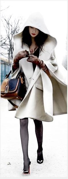 Wow. Stunning from head to toe. The jacket is amazing and I'm so loving the gorgeous cognac gloves!