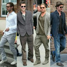 Brad Pitt Style, Zac Efron, Leonardo Dicaprio, Diorama, My Boys, Actors & Actresses, Going Out, Hot Guys, Eye Candy