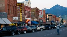 The 100 block of Main Street, is home to some of Livingston's oldest commercial buildings. By far the most photographed setting in Livingston, the distinct arrangement of alternating two-and one-story structures with a majestic mountain backdrop makes for a postcard-like photo opp. While walking down Main Street pay special attention to the many ornate facades and original merchant name plates.