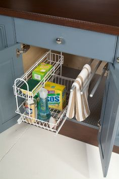 Storage and Organization Solutions - traditional - kitchen - other metro - Greenfield Cabinetry