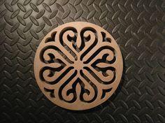 Dessous de plat - L'atelier créateur d'objets déco en bois !