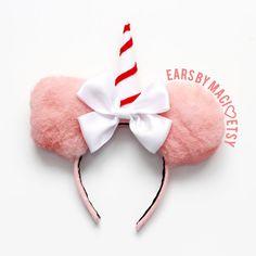 Ears by Maci by EarsByMaci Disney Ears Headband, Diy Disney Ears, Disney Headbands, Disney Mickey Ears, Ear Headbands, Minnie Mouse, Disney Hair, Disneyland Birthday, Disney Diy Crafts