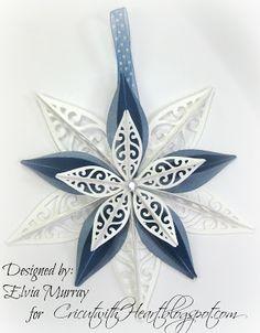 Cricut with Heart: Artiste Ornament Star