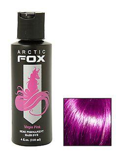 The power of pink. Arctic Fox Hair semi-permanent hair dye.