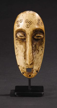 Lega (Democratic Republic of Congo). Mask. Bone.