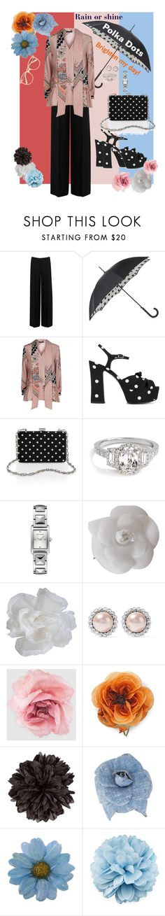 """Polka Dots - II"" by mary-kay-de-jesus ❤ liked on Polyvore featuring Alexander McQueen, Fulton, Etro, Yves Saint Laurent, Rebecca Minkoff, Chanel, Miu Miu, Gucci, NOVICA and Chloé"
