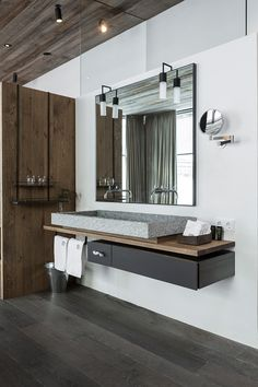 bathroom in Hotel Wiesergut | GOGL ARCHITEKTEN