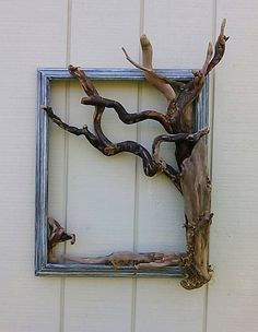 x Driftwood Sitting Mermaid Wall Decoration Decorative Tree Fra.- x Driftwood Sitting Mermaid Wall Decoration Decorative Tree Frame Wall Art Beach Decor Coastal Wall