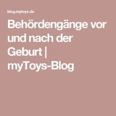 Behördengänge vor und nach der Geburt | myToys-Blog