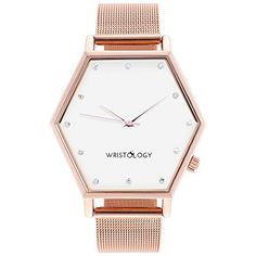 WRISTOLOGY Ellie Womens Hexagon Crystal Rose Gold Boyfrie... https://smile.amazon.com/dp/B01E7PILLS/ref=cm_sw_r_pi_dp_x_9MEvybSPEVYVM