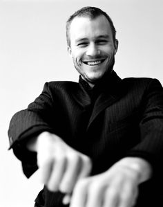 Heath Ledger. R.I.P you sexy thang <3