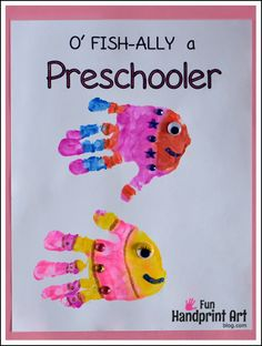 Free 1st Day of School Handprint Printables for Preschool - 1st Grade