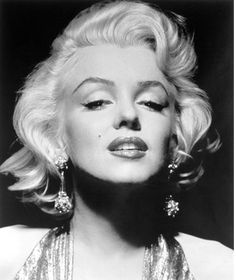 A Monroe piercing should be higher than what people normally have it at