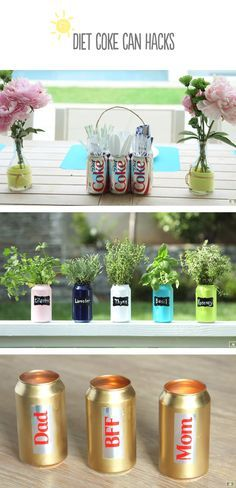 Awesome DIY Projects: 3 Amazing Diet Coke Can Hacks