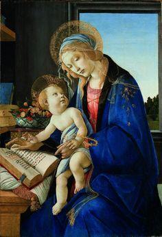 Botticelli_Madonna del Libro_1480