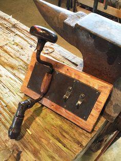 Industrial Style Coat Rack  Coat Hook  by TexasFrenchMarket