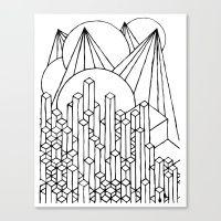 Allison 4/7 Canvas Print