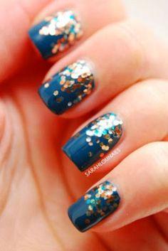 Glitter Nail Art Ideas (103) #KidsNails