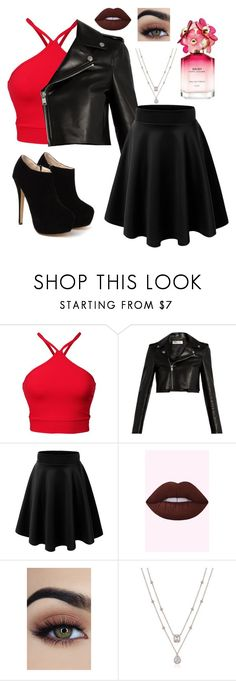 """AM"" by trinitymahomie on Polyvore featuring Yves Saint Laurent and Marc Jacobs"