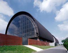 Tokyo Metropolitan Gymnasium complex at sakakura associates