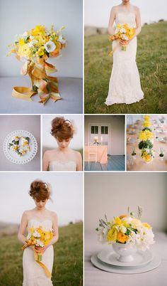 love the yellow palette