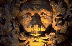 green man church carving