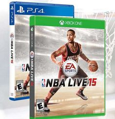 NBA Live 15 Cover Star Is Damian Lillard -- Who Would You Have Chosen?