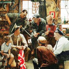 Norman Rockwell: Homecoming Marine