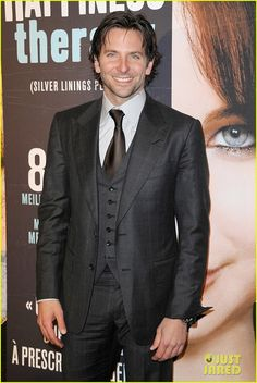Bradley Cooper: 'Silver Linings Playbook' Paris Premiere