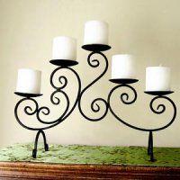 centro de mesa candelabro botellero y mucho mas en hierro forjado_Guarico-1