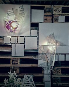 @alessandra meacci lights on in @lambrate @Fuorisalone .it #milanodesignweek #isaloni